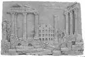 Cast Panel featuring Roman Ruins