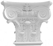 Cast Plaster Decorative Accessory T1. Can be attached to a wall and used as a shelf