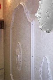 Decorative Ceiling Ring/Panel - Cast Plaster