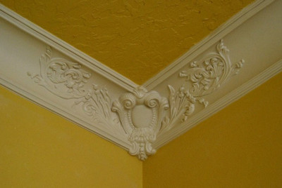 Decorative Corner.  Use with DM723, and/or DM723A Accent Trim