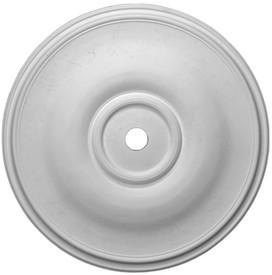 """Classic Ceiling Medallion.  36"""" Diameter x 2"""" projection.  Simple elegant design."""