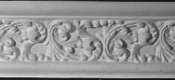 Classic Rococo Scroll Acanthus Plaster Molding