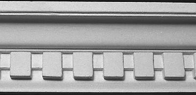 Straightline Crown Molding with Dentil - DM366