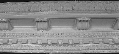Decorative Crown Molding - Casting Plaster