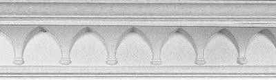 Plaster Molding featuring arches