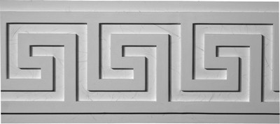 Greek Key Decorative Plaster Molding