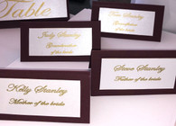 Place Cards; for guests &/or food