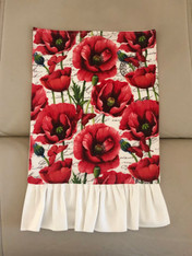 Ohhh La La Poppy II Tea Towel