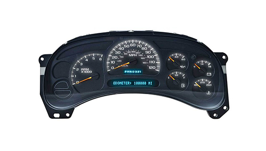 chevy instrument cluster led upgrade