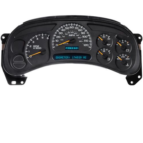 Chevrolet Gauge Cluster Standard Backlighting