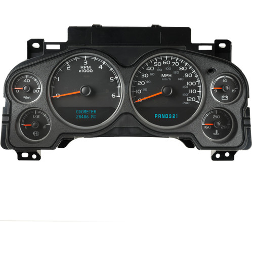 2007 - 2013 Chevrolet Instrument Cluster repair
