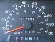 Ford Crown Victoria Odometer Repair