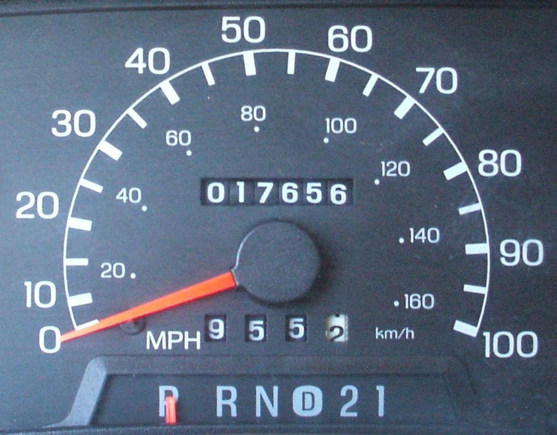 1995 - 2003 Ford Ranger Odometer Repair