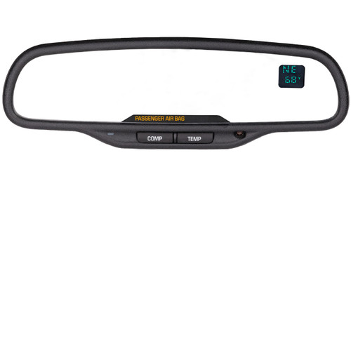 Chevrolet Rear View Mirror with Compass and Temperature Controls