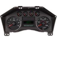2008 - 2010 Ford Super Duty Instrument Cluster Black