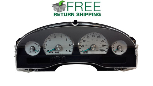 2004, 2005 Ford Thunderbird Instrument Cluster Repair Service