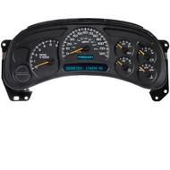 Chevrolet Avalanche Gauge Cluster Standard Backlighting