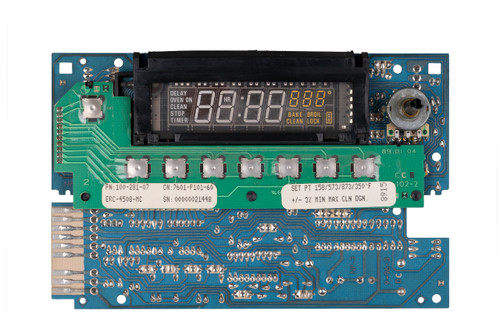 7601P154-60 Oven Control Board Front