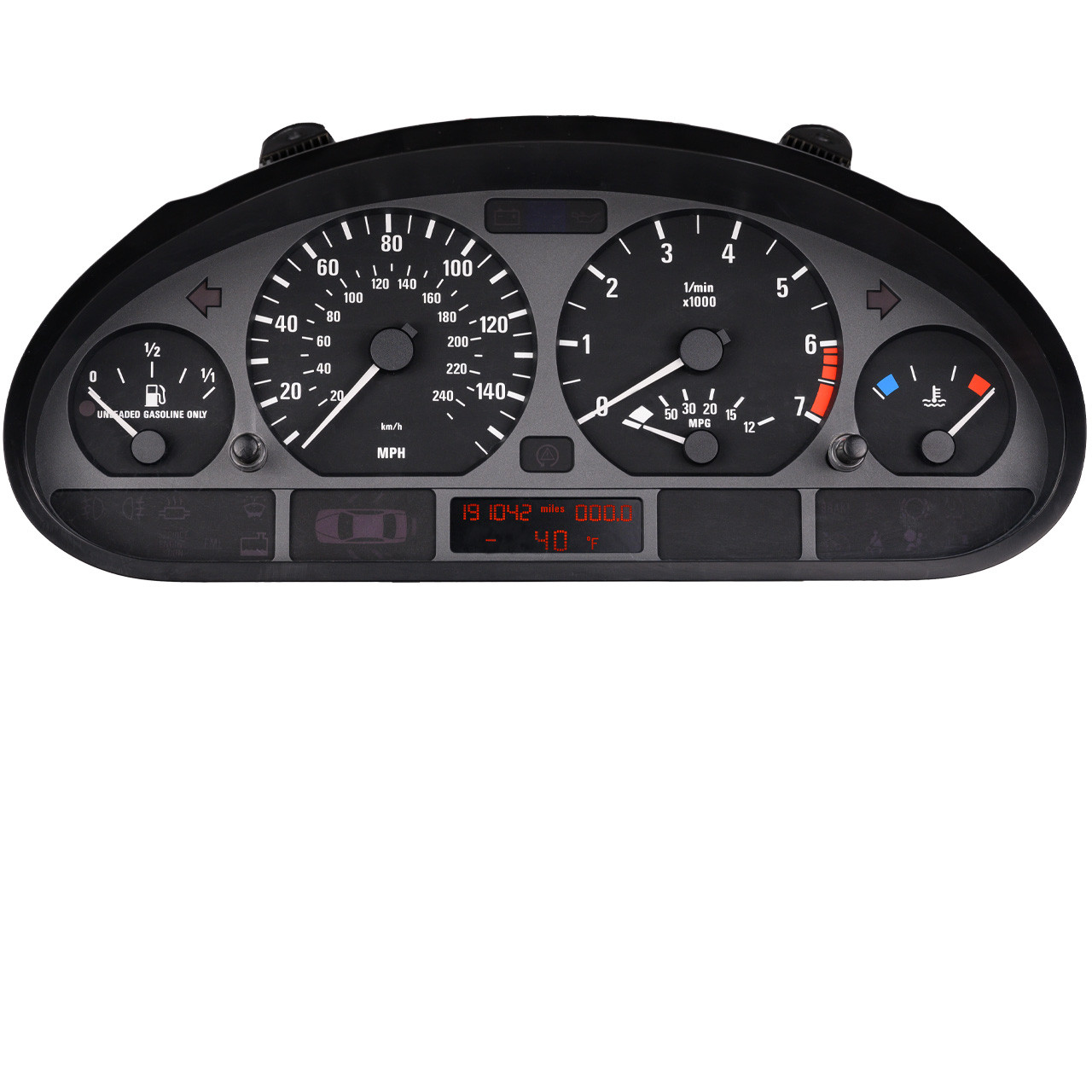 2002 FORD F350 DIESEL speedometer instrument cluster *MANY MILEAGES AVAILABLE*