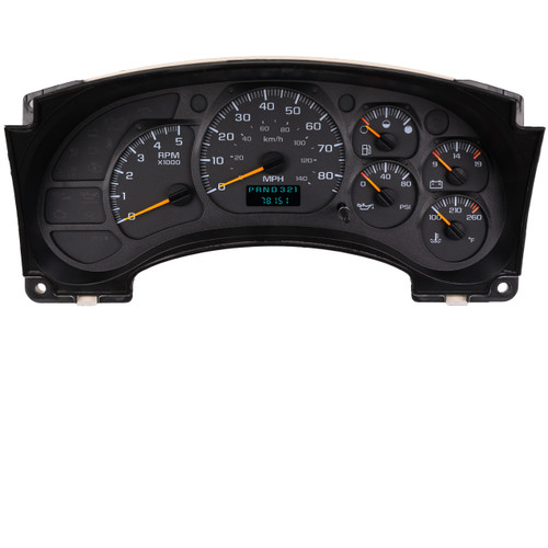 2003 – 2009 GMC Topkick/Chevrolet Kodiak Instrument Cluster Repair