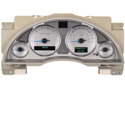 Buick Rendezvous Instrument Cluster Repair white applique'