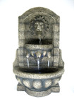 Lion Head Tabletop Fountain w/ LED Light