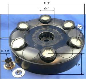 Base LED Holder Light Ring
