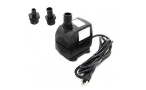 WP3500 pump with three adapters