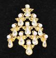 Guardian Angel Christmas Tree Pin