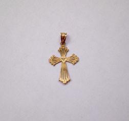 14 kt Gold Cross
