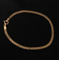 Gold Vermeil Link Bracelet