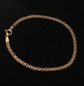 Gold over Sterling Milor Link Bracelet