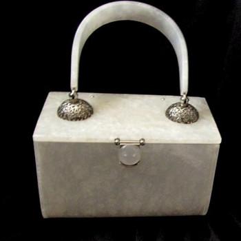 Vintage Rialto NY Lucite Handbag