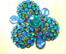 Joan Rivers Swarovksi Crystal Pin