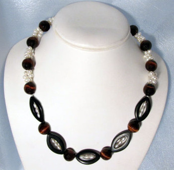 Cherry Tiger Eye Necklace