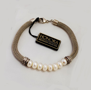 Vintage Honora Pearl Bracelet