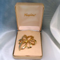 Vintage signed Napier Bow Pin