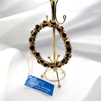 Angela Moore Leopard Spot Bracelet
