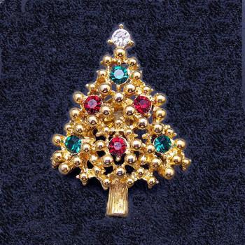 Unsigned Eisenberg Christmas Tree Lapel Pin
