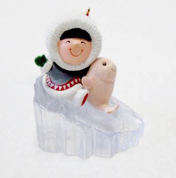 1990 Hallmark Frosty Friends Ornament