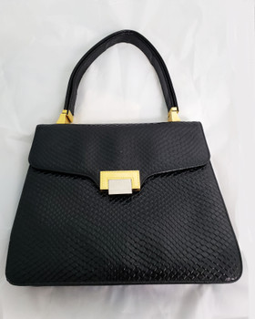 Vintage Koret Embossed Leather Handbag