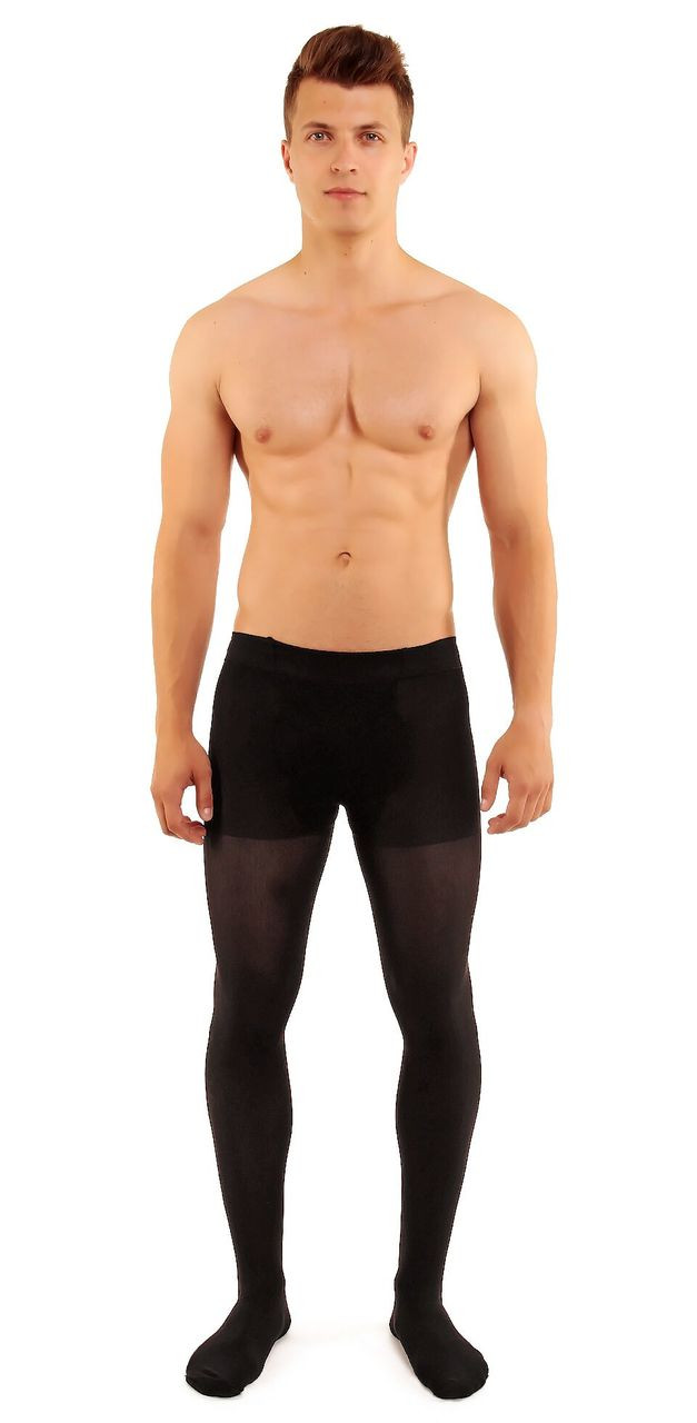 4636d646d06 G420 Glamory Microman 100 Tights with Fly   mantyhose with Fly