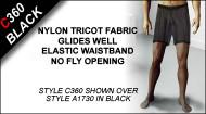 C360 Boxer Shorts, Nylon Tricot