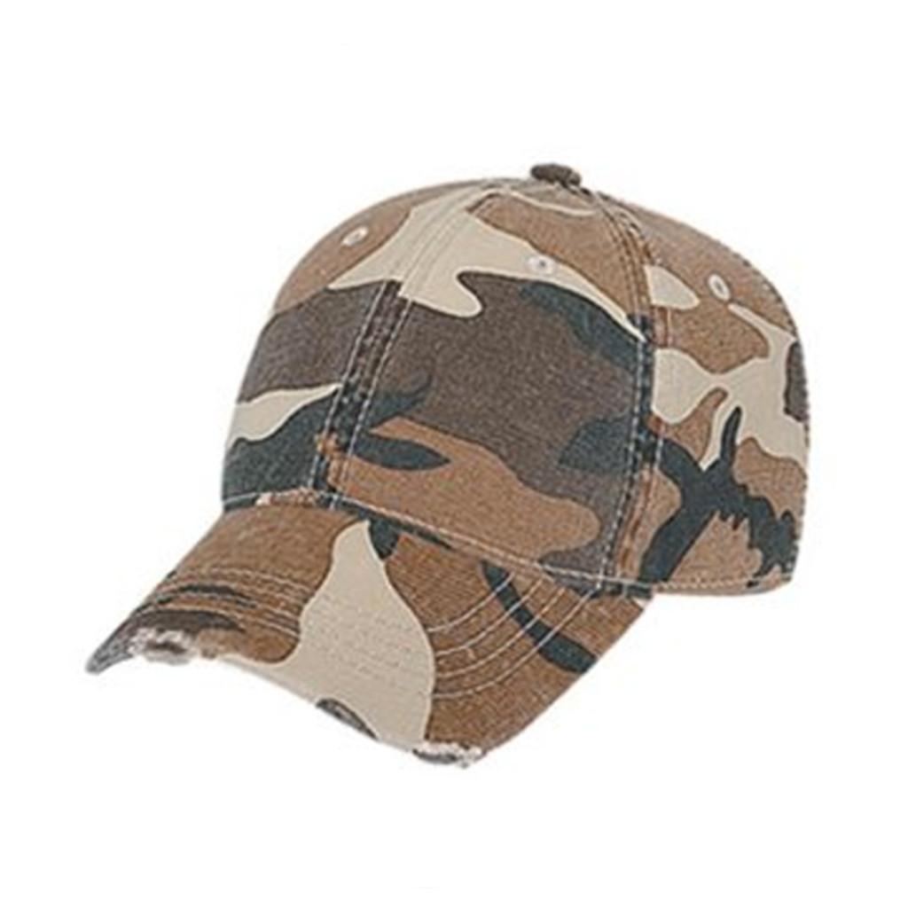 Otto Cap   Kids Distressed Camouflage Baseball Cap   Hats ...