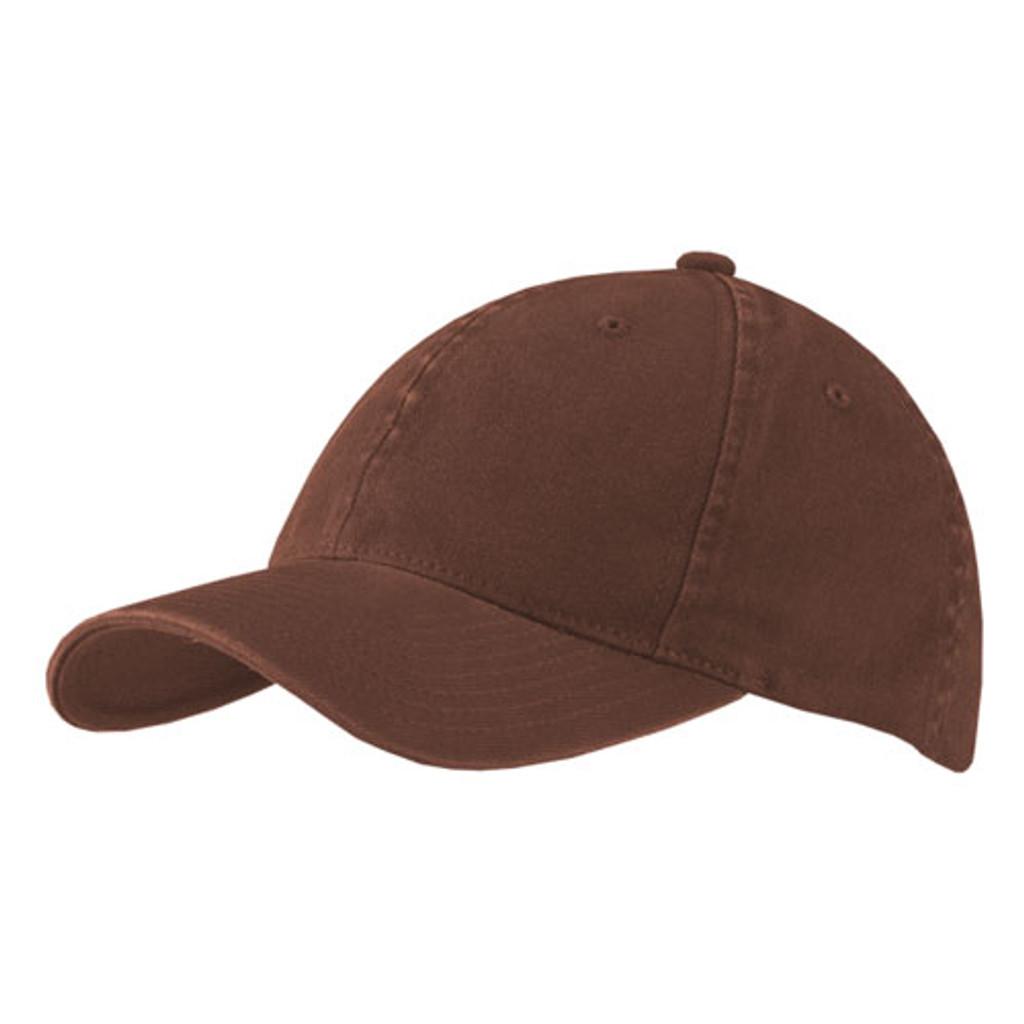 Flexfit | Brown Garment Washed Cap | Hats Unlimited