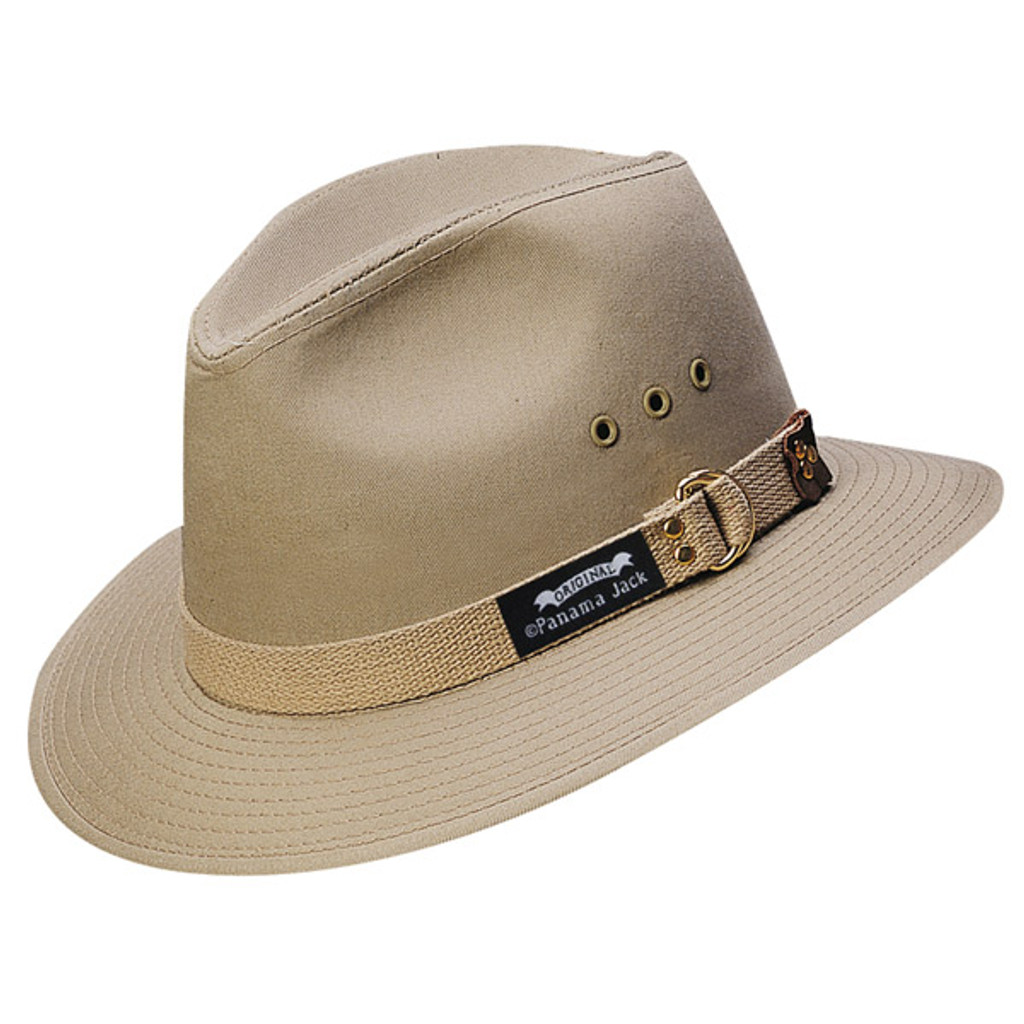 Panama Jack   Canvas Safari Hat   Hats Unlimited