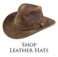 Henschel Leather Hats