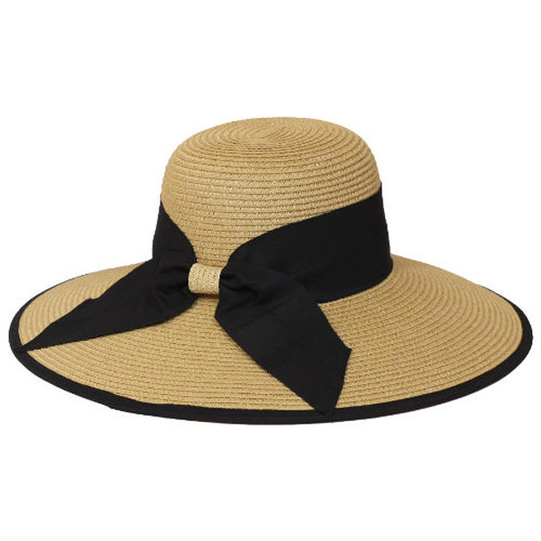 Something Special - Straw Sun Hat with Ribbon Bow