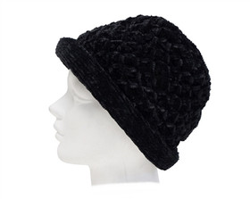 Downtown Style - Chenille Roller Hat