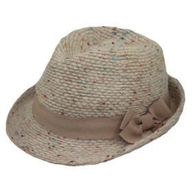 Jeanne Simmons - Multicolor Fedora Hat